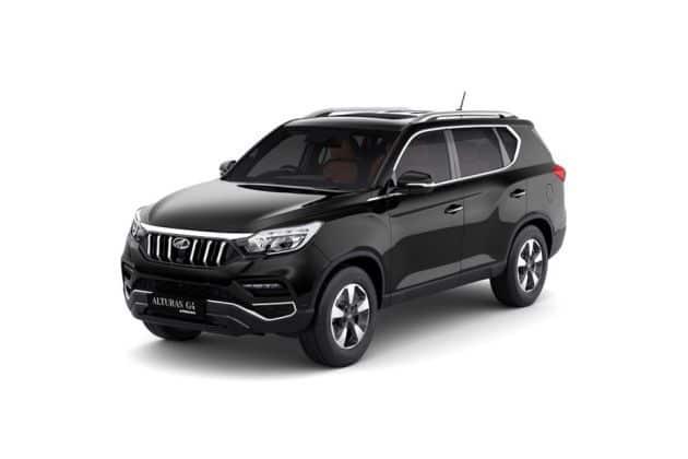 Automotive Mahindra Alturas G4 New Cars