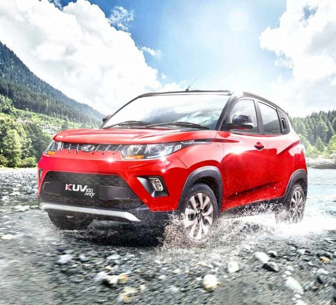 Automotive Mahindra KUV 100 NXT Exterior-2