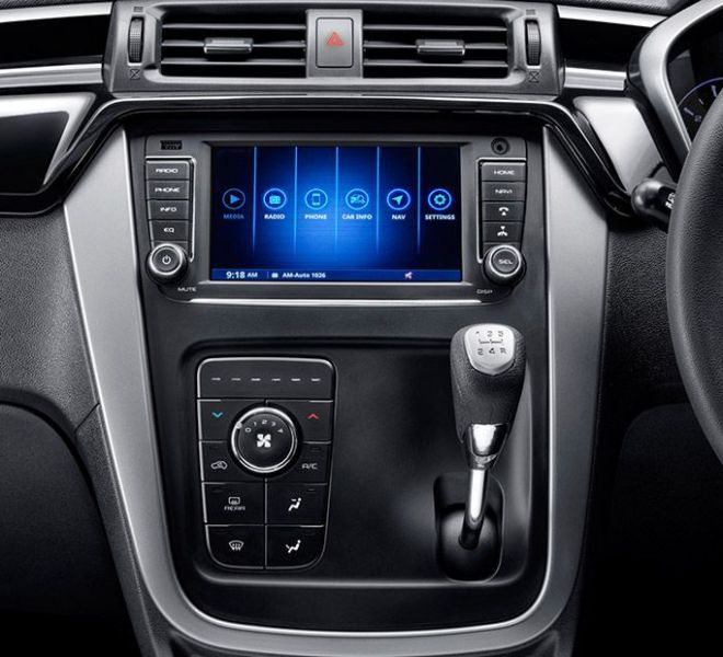 Automotive Mahindra KUV 100 NXT Interior-3