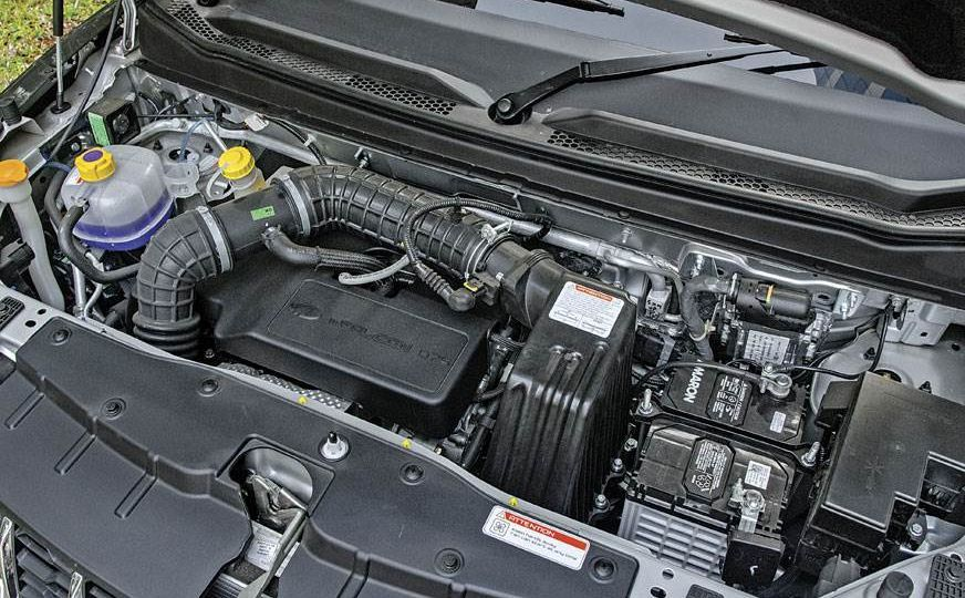 Mahindra KUV100 NXT diesel engine